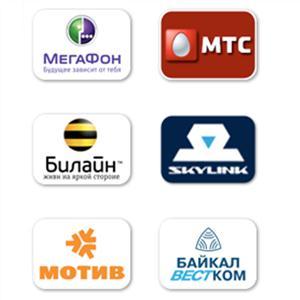 Операторы сотовой связи Приютного